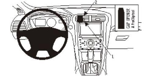 Brodit ProClip 854822 Montagekonsole für Ford Mondeo ab Baujahr 2015