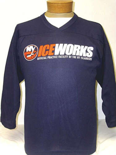 NHL New York NY Islanders Ice Works Jersey Shirt Youth