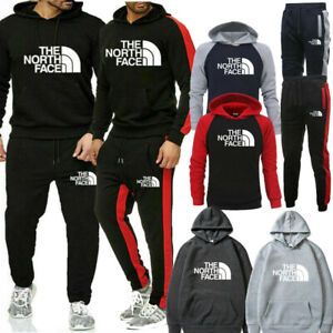 Details about Survêtement Hommes Sweat à capuche Top Bottoms Jogging Pants Set Sportswear