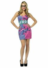New Adult Nestle Nerds Candy Dress Halloween Custome For Fancy Dress