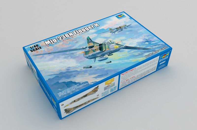 05801 Trumpeter Russian Mig-23BN Flogger H Fighter Bomber Aircraft 1 48 Model