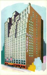 Vintage Postcard - Abbey Hotel 51st Street New York NY Un-Posted #1462