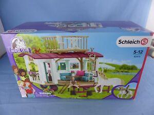Schleich 42415 Horse Club Caravane Remorque Cheval Chevaux Neuf Jamais Ouvert