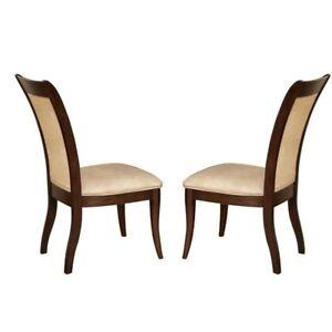 Steve Silver Company Marseille Cream Fabric Dining Chair