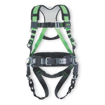 Universal HONEYWELL MILLER R10CN-TB-BDP//UGN Full Body Harness 400 lb.