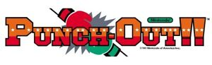 "Punch-Out dédié Arcade MARQUEE – 23.5"" X 5"""