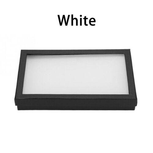 36 Slots Jewelry Box Ring Boxes Storage Case Display Box Black White Exquisite