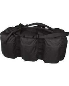 Backpack Deployment Storage Bag black Assault Army Holdall Travel 100l Tactical FAPXw