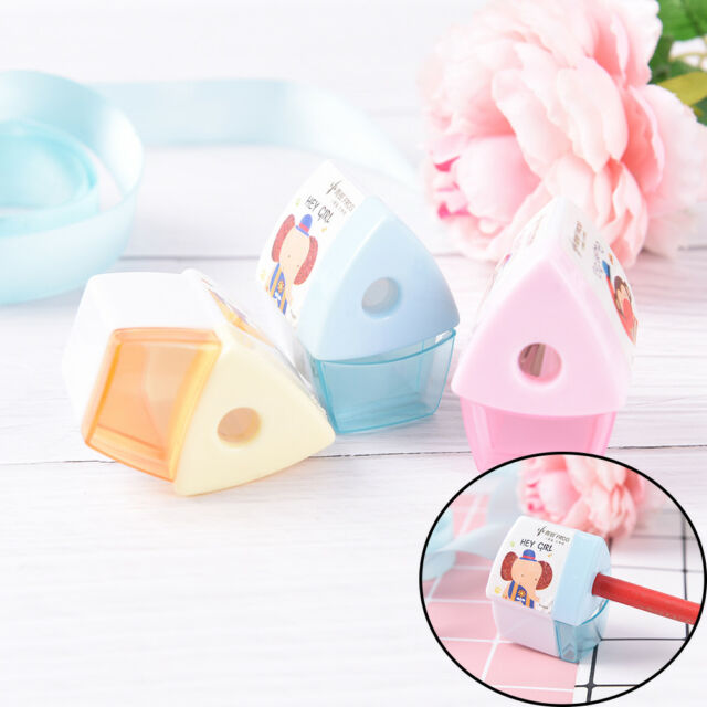 Mini Cartoon House Pencil Sharpener For Student Kids Gifts Office Stationery WK
