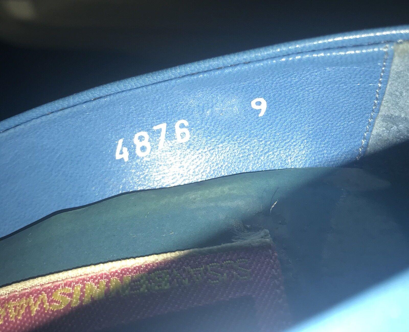 Susan Bennis Warren Edwards Blau Heels 9 9 9 B Original Owner Run Small f352c1