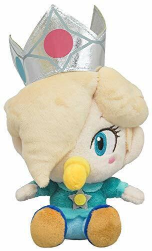 Sanei Super Mario ALL STAR COLLECTION Plush Doll Baby Rosalina Japan S
