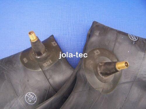 Manguera 2x 27x10.50-15 con válvula de goma tr15 para cargadoras cortacésped 27x1050-15