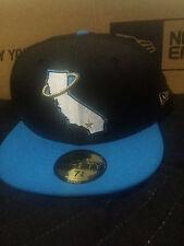 California Angels Blue Black Gold Jordan Hat Cap 7 5/8 Trout jersey New Era