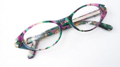 Ausdauernd Damen Brille Butterflyform Lila Grün Fassungen Cateye Kunststoff Rahmen Gr M