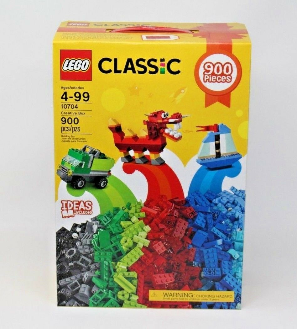Lego Classic 10704 900 Pieces Mixed Set Brand New