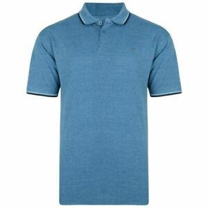 Kam-Mens-Big-amp-Tall-Polo-shirt-Tipped-Collar-And-Cuffs-Short-Sleeve