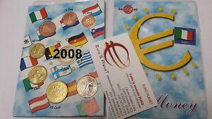 2008-ITALIA-8-monete-3-88-EURO-fdc-unc-Italie-Italy-Italien-W-ochy