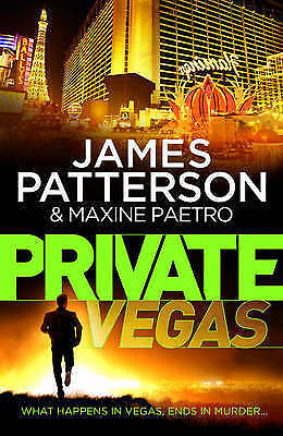 1 of 1 - Private Vegas by James Patterson -Paperback, 2015-1st edition-thriller