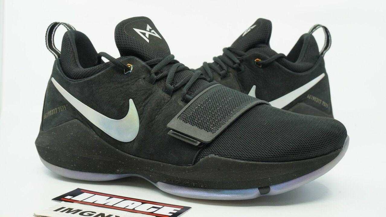 8a398986dcf Nike pg 1 ts nuove dimensioni 12 prototipi nero multicolore preriscalda  911083 099