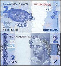 Brazil 2 Reais, (2010) 2015, P-252b, UNC