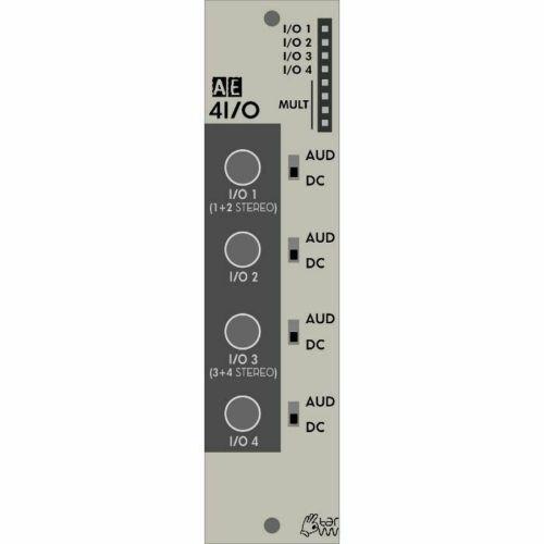 Tangible Waves AE Modular 4I//O Four Minijack Inputs /& Outputs Module