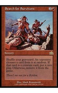 1x-Search-for-Survivors-Prophecy-MtG-Magic-Red-Rare-1-x1-Card-Cards