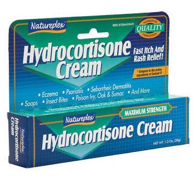 Natureplex Hydrocortisone Cream 1 oz tube