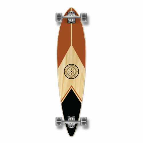 GCPT122 YOCAHER Pintail Longboard Complete Mountain Earth Series