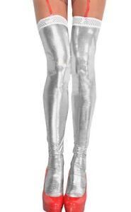 Bas-Wetlook-effet-cuir-Blanc-ST03-Me-Seduce