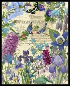 Hummingbird-Garden-II-Chart-Counted-Cross-Stitch-Pattern-Needlework-Xstitch