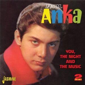 Paul-Anka-You-the-Night-amp-the-Music-New-CD-UK-Import