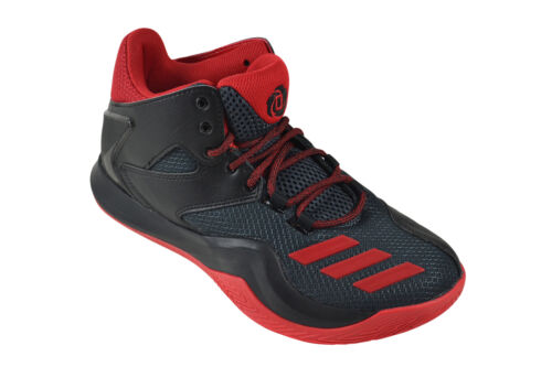 Adidas Derrick Rose 773 V black scarlet dark grey Sneaker Schuhe schwarz AQ7222