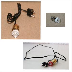 Krippenzubehoer-LED-Beleuchtung-E10-mit-Kabel-Stecker-Ersatzbirnen-Farben