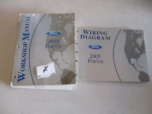 2005 Ford Focus Wiring Diagrams Service Manuals Manual Oem Ebay