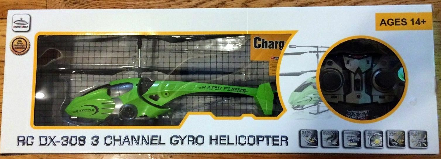 15 inch  3.5CH Radio Control GYRO RC Helicopter Helicopter Helicopter 786573