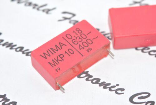 WIMA Black Box 0.47uF 630V 5/% pitch:37.5mm Capacitor NOS Genuine 1pcs