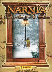 Chronicles of Narnia Stickers Box Panini