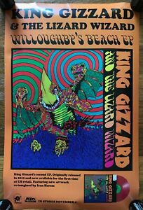 Music Poster Promo King Gizzard and the Lizard Wizard 12 Bar Bruise Willoughby/'s