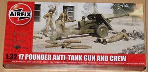 Airfix-A06361-1-32-Bausatz-17-Pounder-Anti-tank-Gun-and-Crew