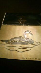 Brass-Embossing-Stencil-Swan