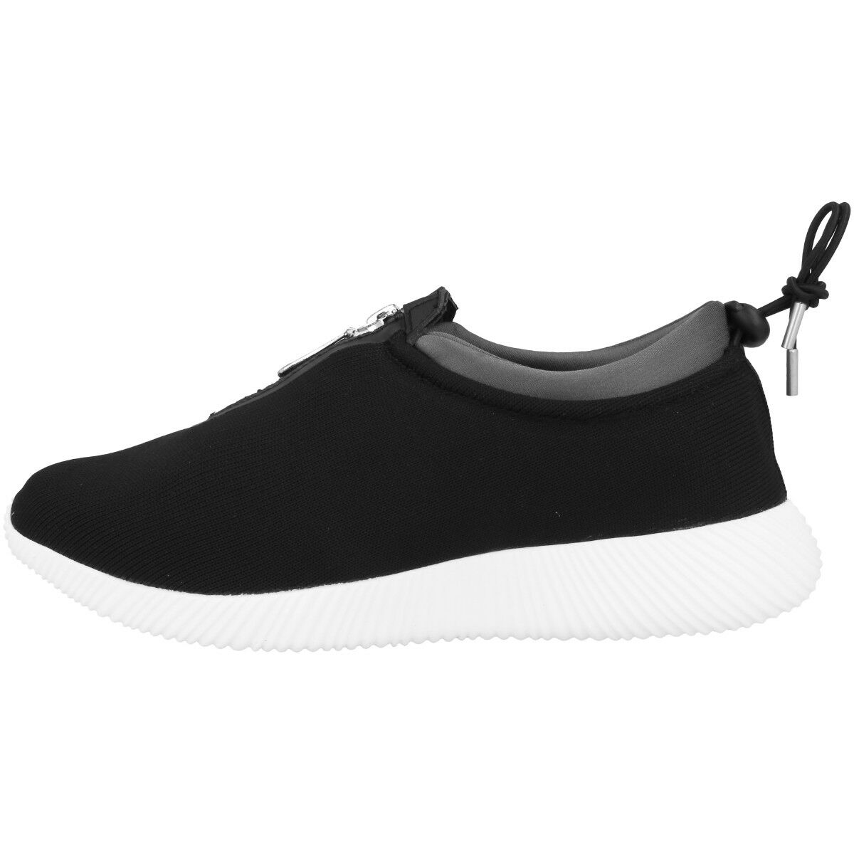 Chung Shi Duxfree Aruba Donne chaussures femmes Casual Zip baskets Nere 8820010