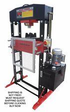 NEW Redline RE50T Shop Press 50 Ton Auto Automotive Hydraulic Electric Metal