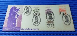 1973 Singapore First Day Cover Singapore Landmarks Commemorative Stamp Issue