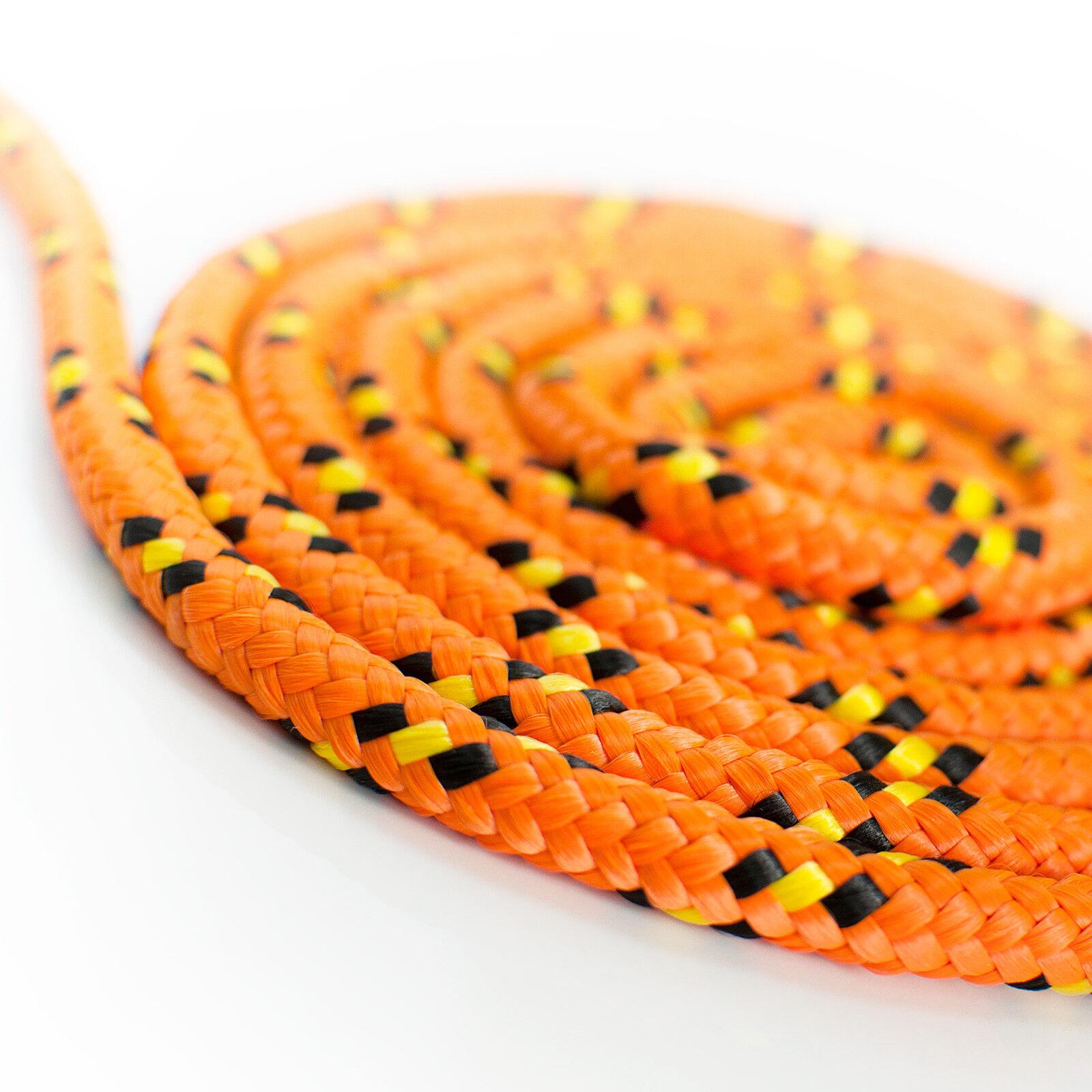 30m SEIL Polypropylen 18mm schwimmfähig Tauwerk Tau Kunststoffseil Seil Orange