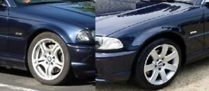 Details About Bmw E46 1998 2001 Pair Of Wings Saloon Estate Painted 317 Orient Blue New