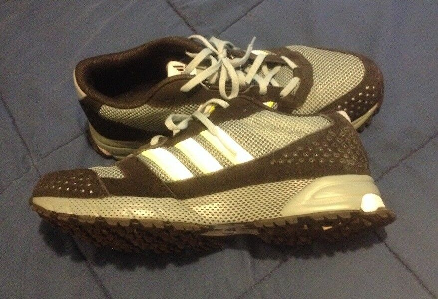 Adidas Marathon -- Size 10.5 -- - Mens Running Shoes -- 10.5 SUEDE -- WOW!!! a88ca8