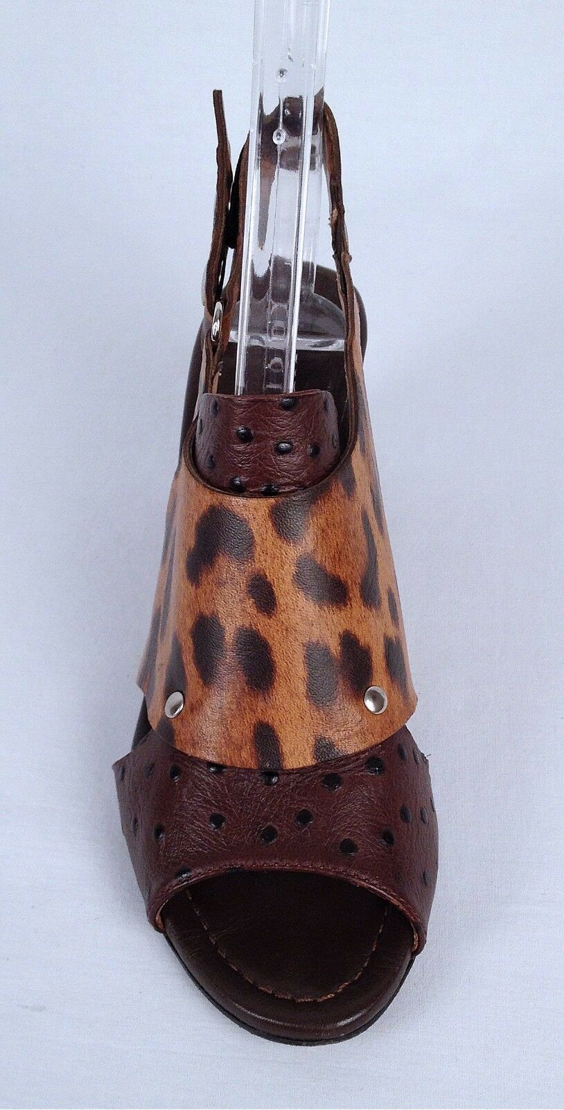 Anyi Lu 'Rialta' 'Rialta' 'Rialta' Sandal- Print  Brown- Size 6 US  36 EU -  425  (P20) d7170c