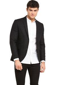 Jack-amp-Jones-Premium-Leighton-Blazer-In-Black-Size-38