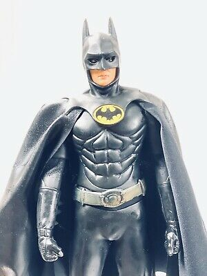 Custom Batman Keaton Leather CAPE ONLY 1//12 Dc Collectibles Neca For Figure 1989