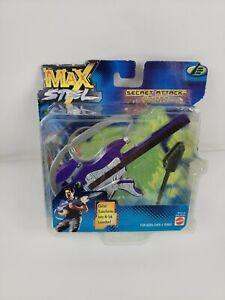 Mattel Max Steel - Figurine articulée Attaque secrète dans une boîte